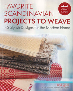 Favorite Scandinavian Projects to Weave - Book