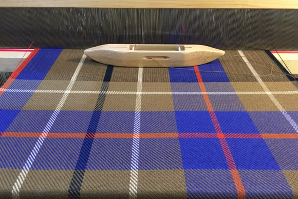 Tartan Runner or Towels Weaving Pattern and WIF
