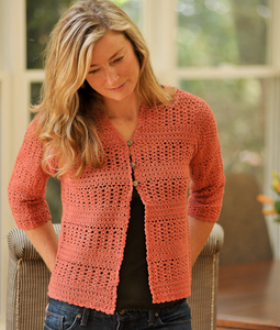 Summer Crochet Cardigan by Therese Chynoweth