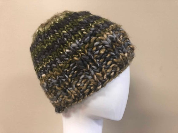 Simple Chunky Hat Knitting Kit