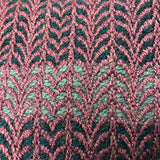 Undulating Twill Scarf - Weft Faced Weaving Pattern and WIF
