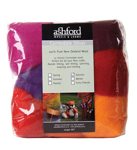 Ashford Wool Packs  - Corriedale Fiber
