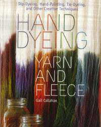 Hand Dying Yarn and Fleece