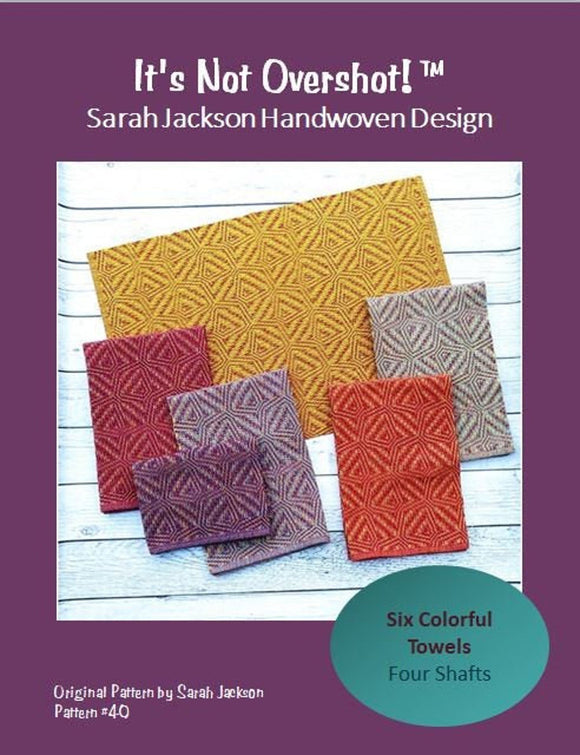 It's Not Overshot Patter Download - by Sarah Jackson Handwoven Design