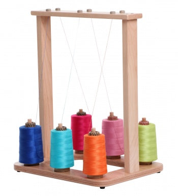 Ashford Yarn Stand - 6 Spools Lacquered