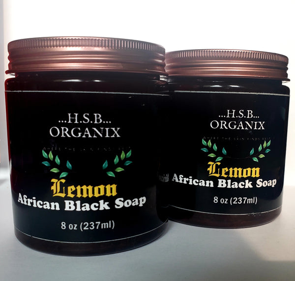 African Black Soap - Lemon