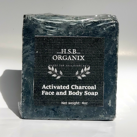 Activated Charcoal Bath Bar