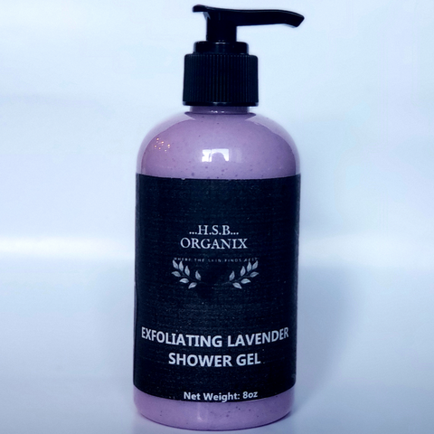 Exfoliating Lavender Shower Gel