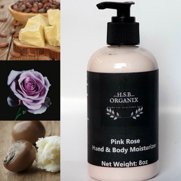 Pink Rose Body Moisturizer