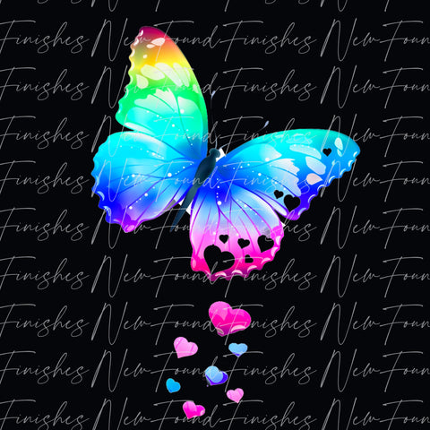 Colourful butterfly DARK