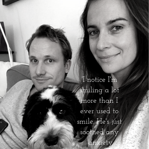Changing Scenes: Actress Camilla Arfwedson on her adopted dog, Freddie.