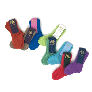Cashmere Baby Socks