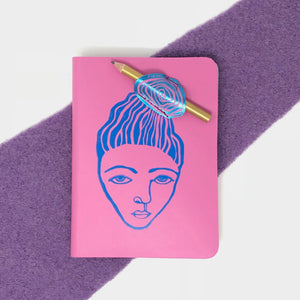 A6 Messy Bun Journal