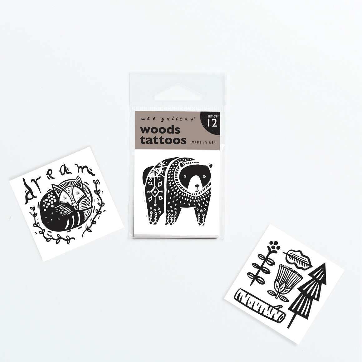 Woodland Temporary Tattoos