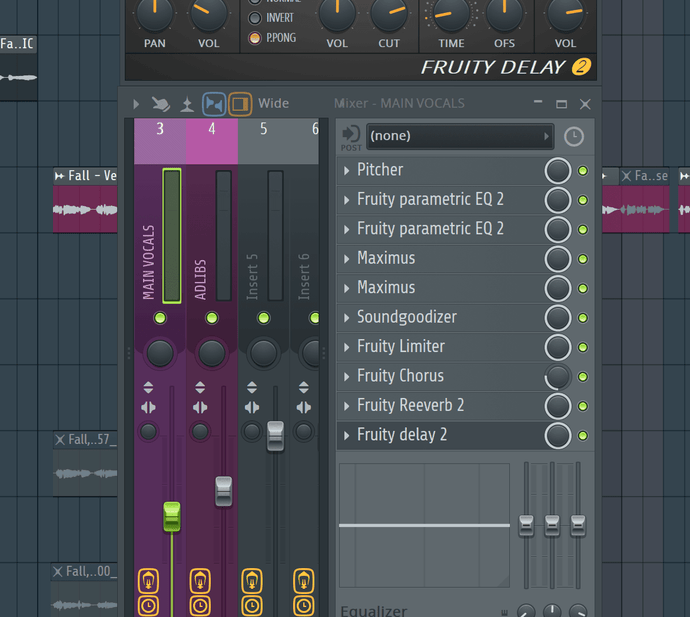 Mixing your vocals: the typical FX plugin chain