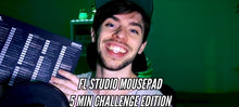 FL Studio Mousepad - 5 Minute Challenge Edition - BRODUCER by EDWAN - Best EDM FLPs, sample packs & Broducer merch