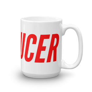 THE BRODUCER MUG (FIRE RED) - BRODUCER by Edwan