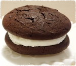 4 Gift Pack of Large Whoopie Pies