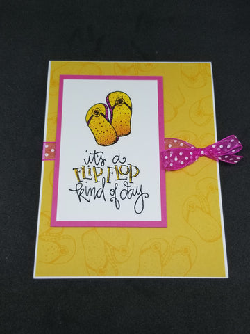 Easy Two Stamp Card Moon Doggy Craft Supplies