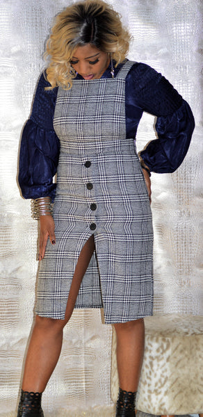"""The Matred Checkered Overall"""