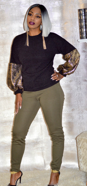The Tamar Exquisite Sleeved Sweater