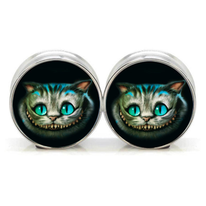 Cat face ear plate 2
