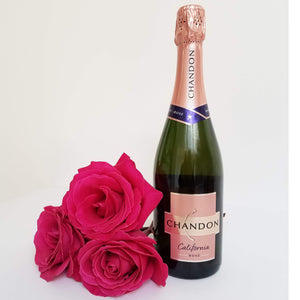 Bottle of Chandon Rose