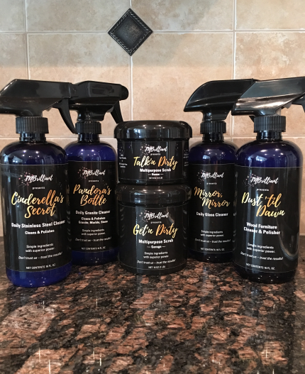 Starter kit all natural cleaners