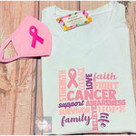 Breast cancer Awareness T-Shirt - Eb Creations