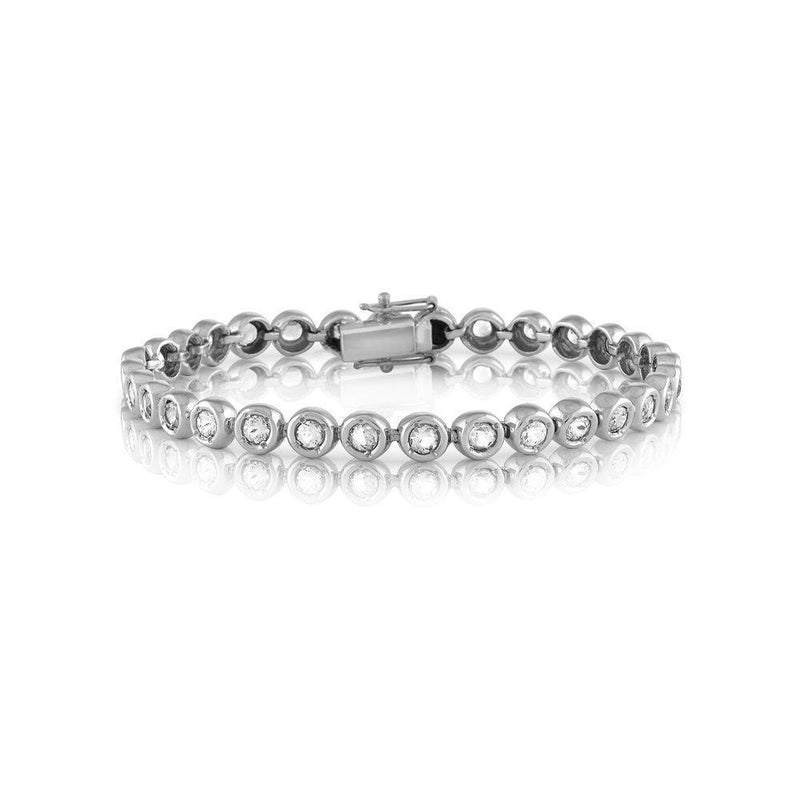 Diamond Tennis Bracelet - Kelly Bello Design