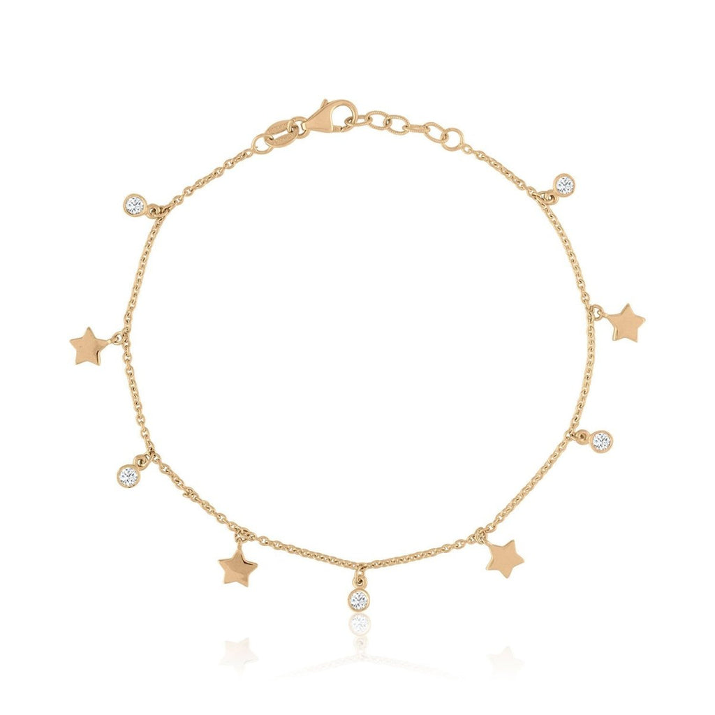 Diamonds & Stars Bracelet - Kelly Bello Design