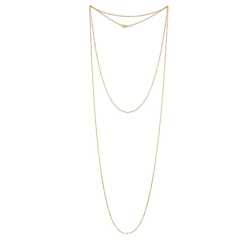 Extra Long Basic Chain Necklace - Kelly Bello Design
