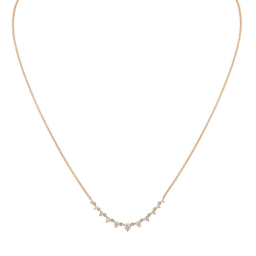 Graduated Diamond Necklace - Kelly Bello Design