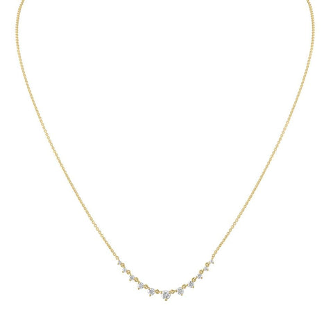 Thin Long Link Necklace
