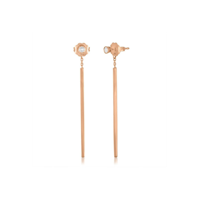 Matchstick Redefined Earrings - Kelly Bello Design