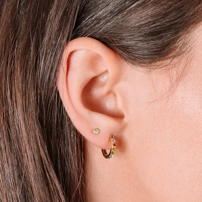 Mini Diamond Studs - Kelly Bello Design