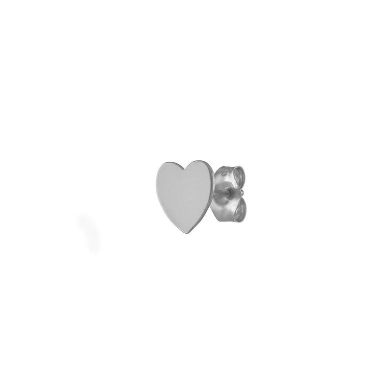 Mini Heart Studs - Kelly Bello Design