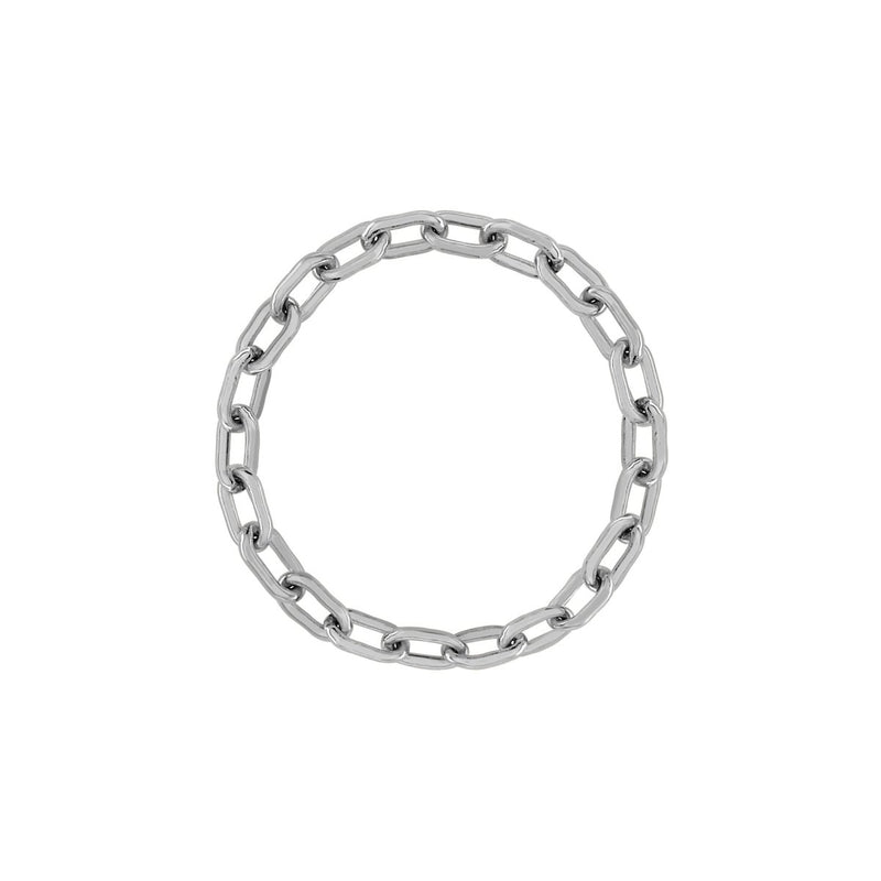Mini Long Link Chain Ring - Kelly Bello Design