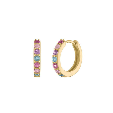 Double Enamel Letter Ring - White