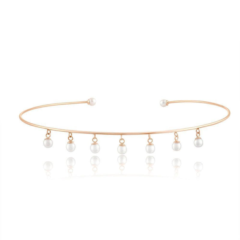 Pearl Choker - Kelly Bello Design