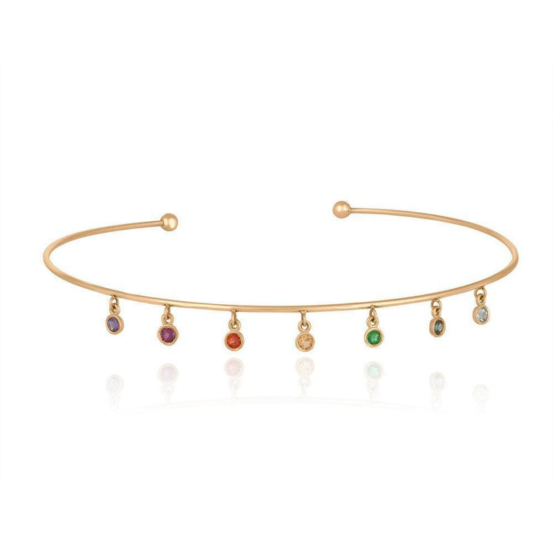 Rainbow Choker - Kelly Bello Design
