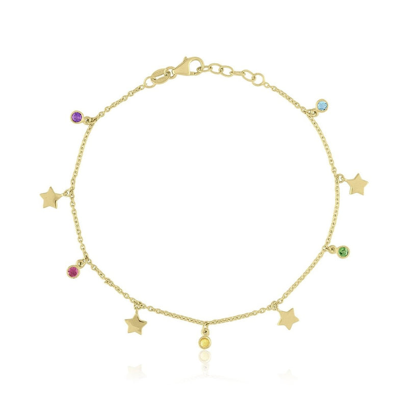 Rainbow & Stars Bracelet - Kelly Bello Design