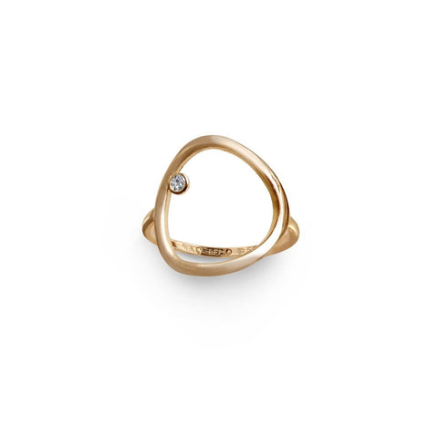 Mini Mini Letter Chain Ring