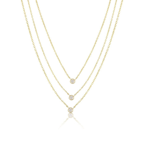 Mini Diamond By The Yard Necklace