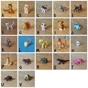 plastic toy animal necklaces,kids Jewelry,kids Necklace,Girls Accessory Necklace,animal necklace,dogs/cats/dinosaurs/horses necklaces,teens