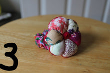 Pink floral cotton mini pincushion wristlet,patchwork mini pincushion wristlet,purple mini pincushion,burgundy pincushion wristlet,