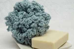 teal crochet bath pouf,bath scrubie,bath accessorie,cleaning bath puff,crochet bath puff,teal bath puff,teal eco-friendly gift,shower puff