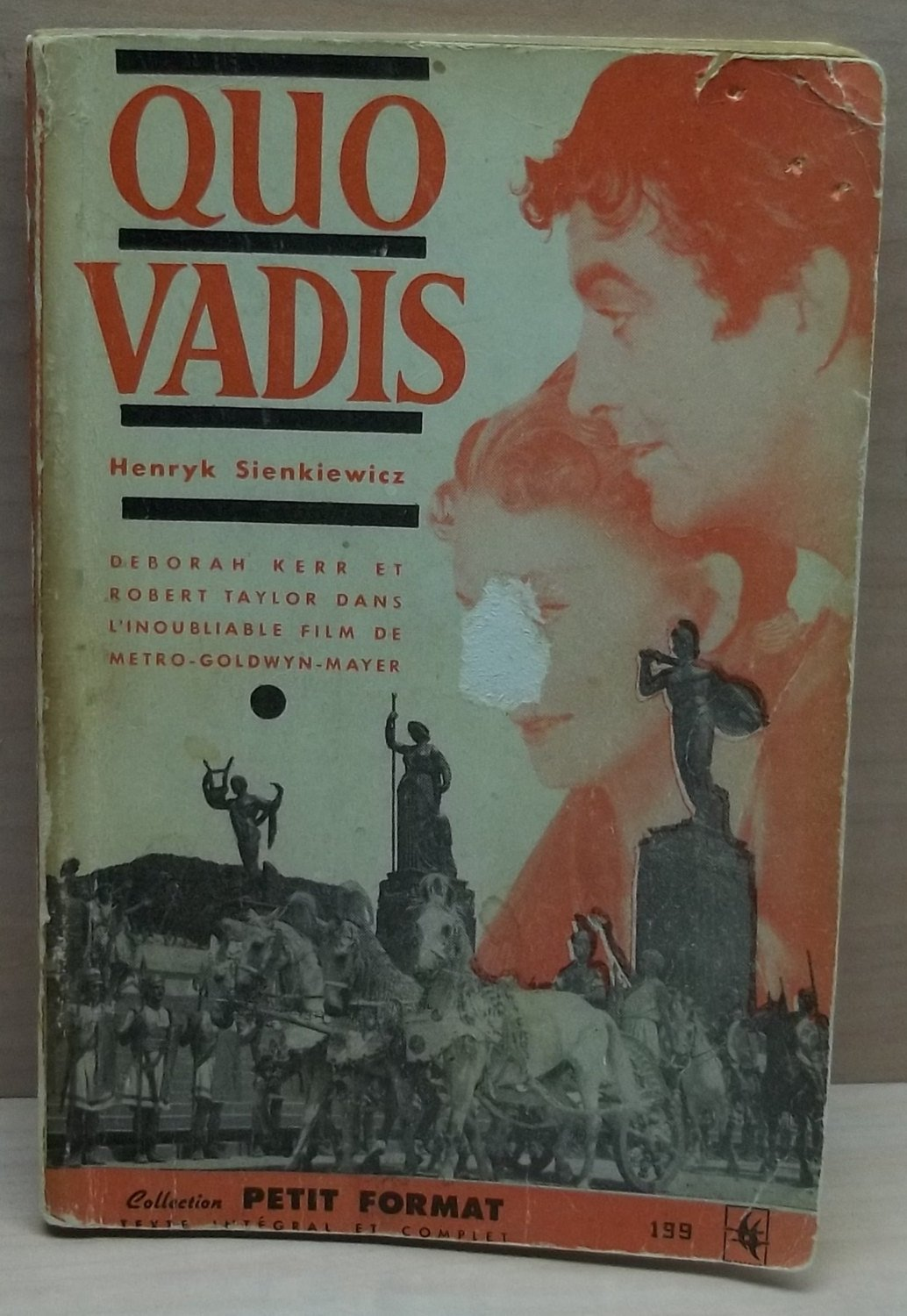 Vintage Book,Quo Vadis book,Quo Vadis Vintage book by Author Henry Sienkiewickz,first edition,french book,collector's item, movie prop
