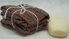 brown knitted Dishcloths/facecloths,knitted brown facecloths,brown dishcloths,brown facecloths,dishcloths,facecloths