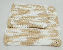 Beige Crochet Face scrubie/facecloth,beige facecloth/face scrubie,beige crochet washcloth,beige facecloth/face scrubie,eco-friendly